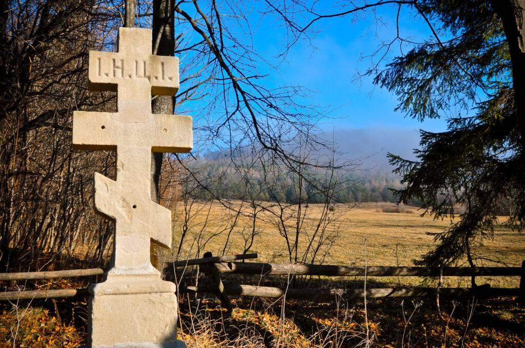 cmentarz w Bielicznej Beskid Niski