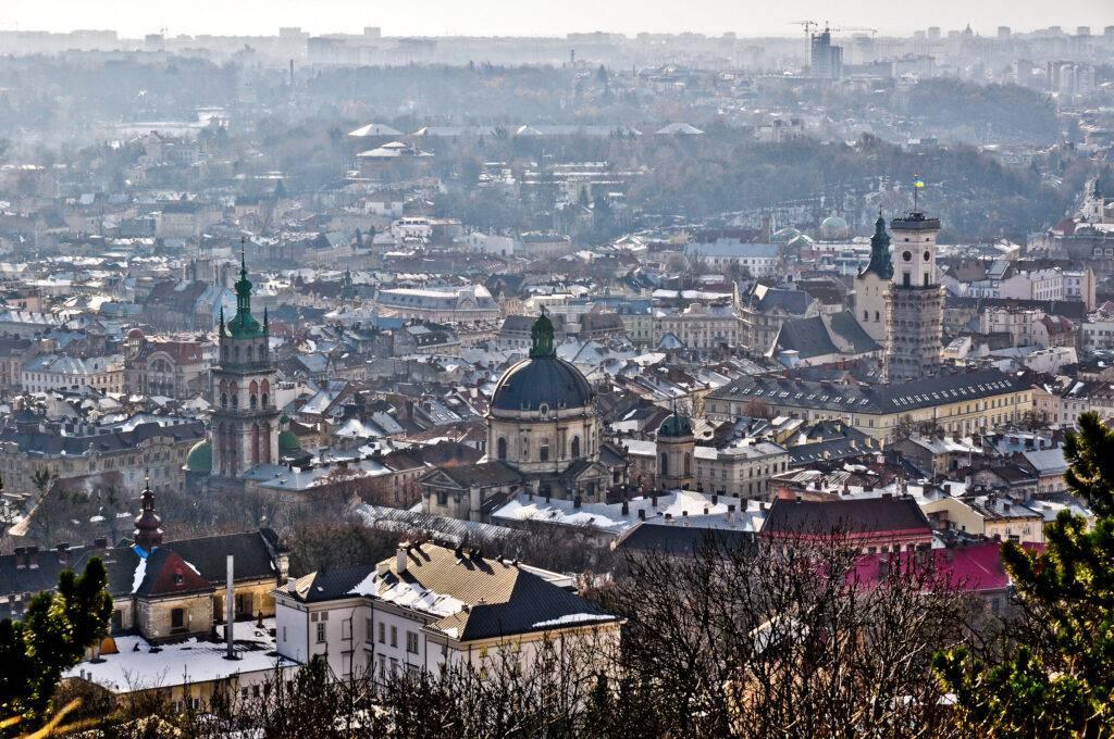 Panorama Lwów