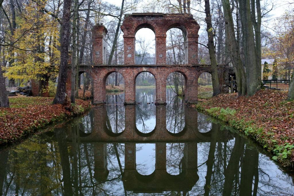 Akwedukt park Arkadia Łódzkie