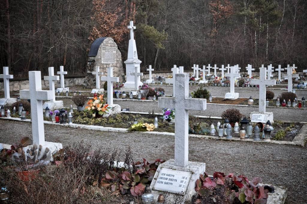 Cmentarz we wsi Sochy Roztocze
