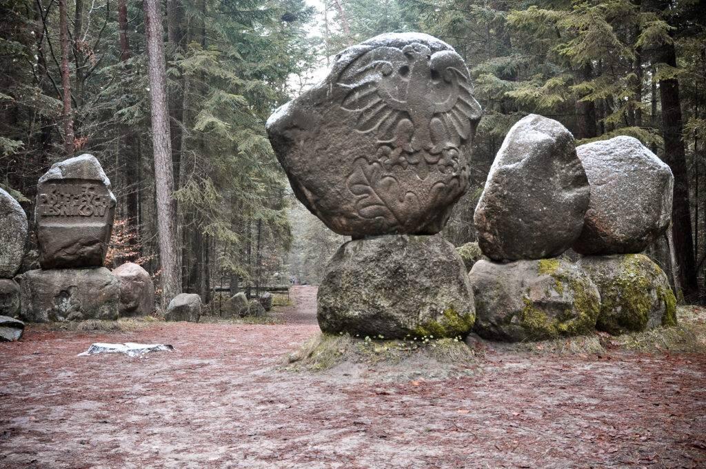 Pomnik Leśników Roztoczański Park Narodowy