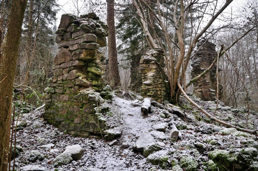 Ruiny Papierni Hamernia