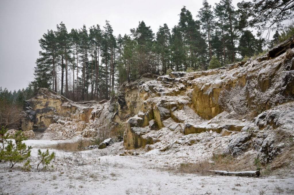 Kamieniołom Babia Dolina Józefów Roztocze