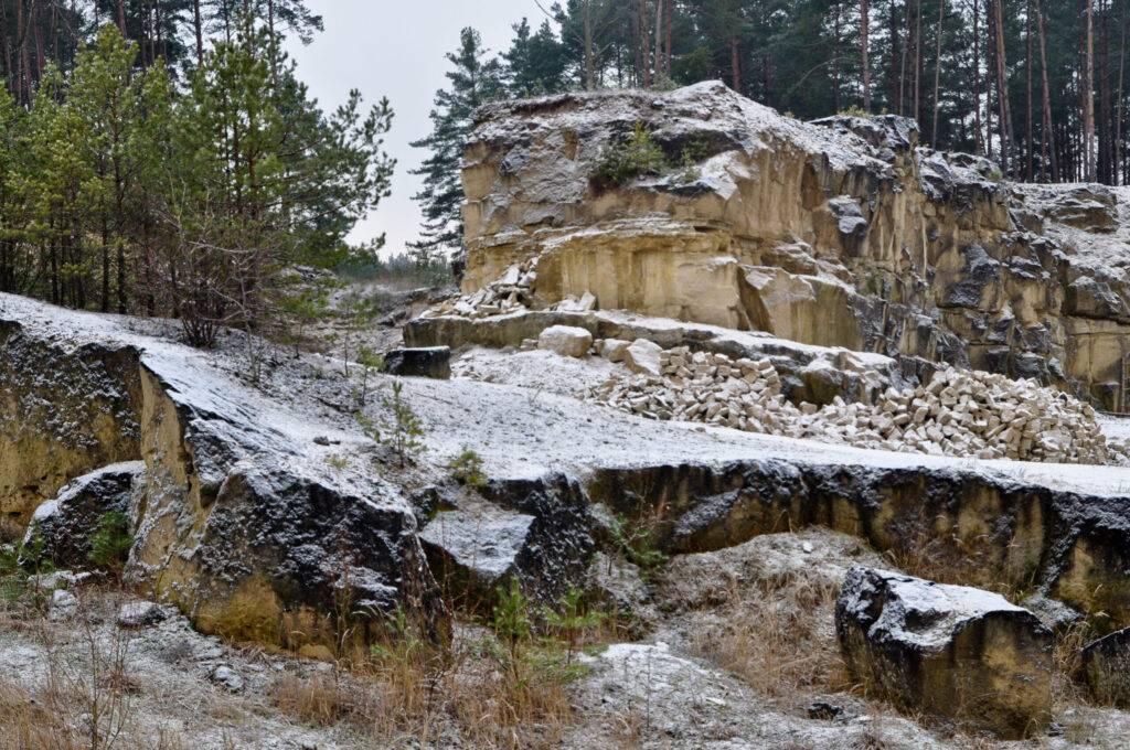 Kamieniołom w Józefowie Roztoczańskim