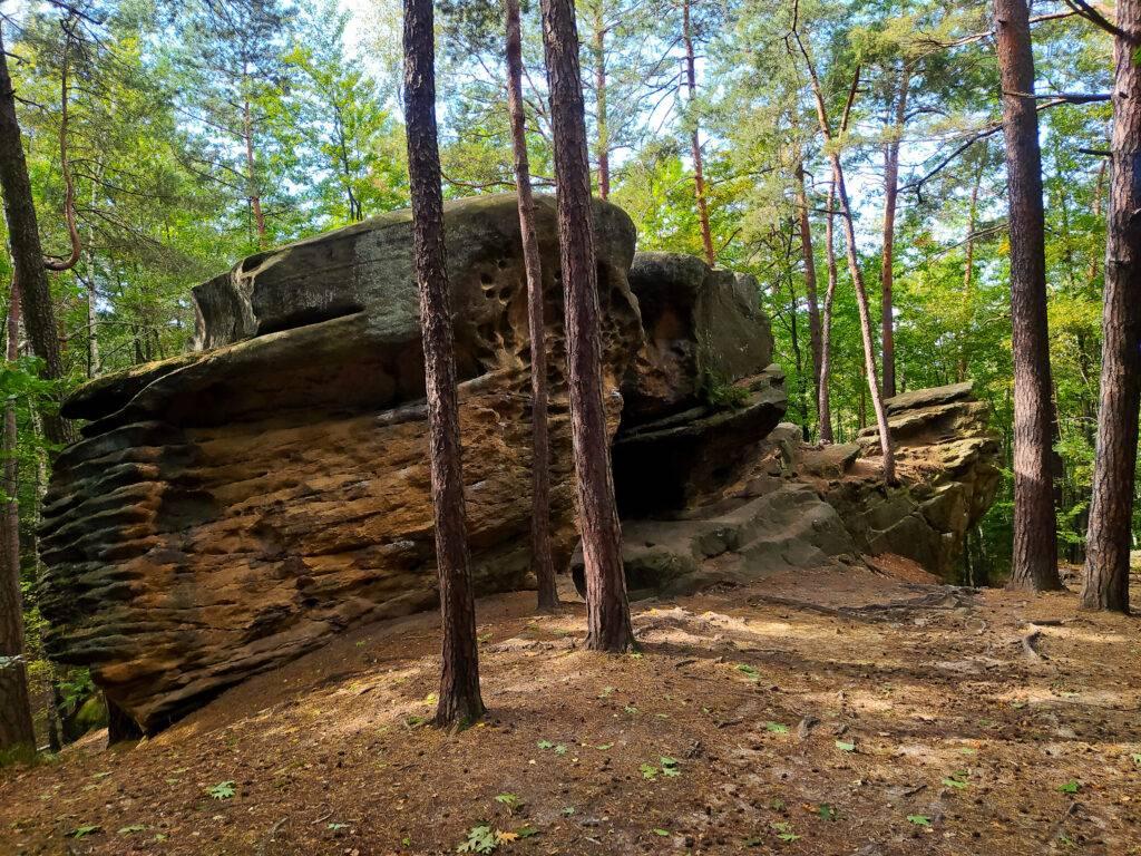 Kamienie Brodzińskiego Lipnicko Wiśnicki Park