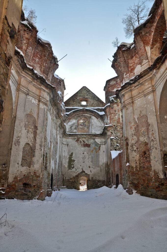 ruiny kościoła karmelitów bosych