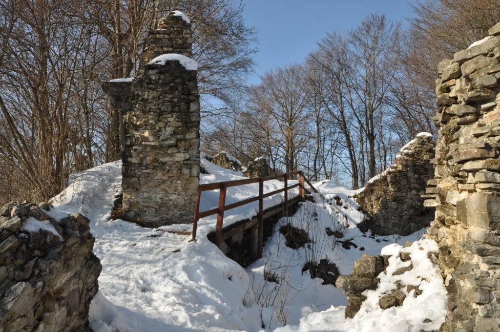 Zamek Sobień Podkarpackie