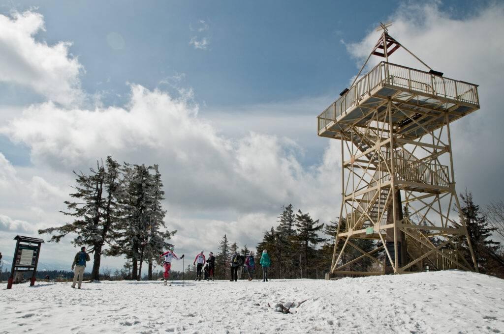 wieża na Baraniej Górze