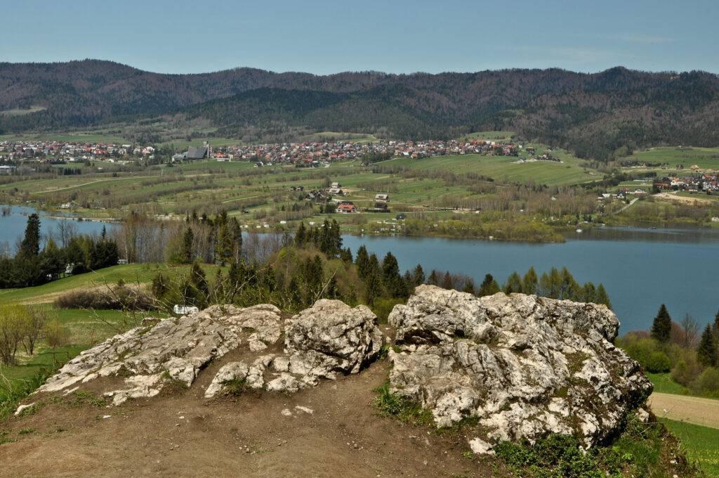 Gorce i jezioro Czorsztyńskie