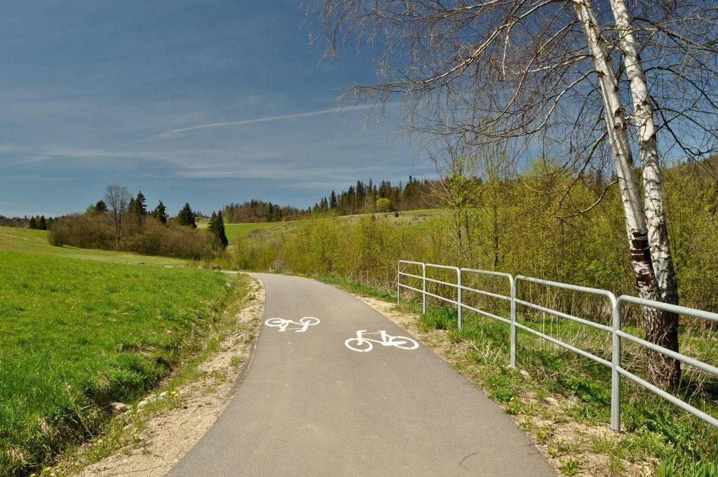 szlak rowerowy Velo Czorsztyn