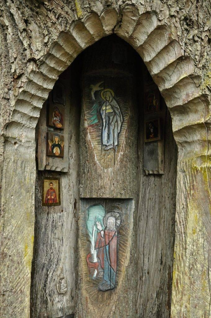 Kapliczka Leśników Topiło