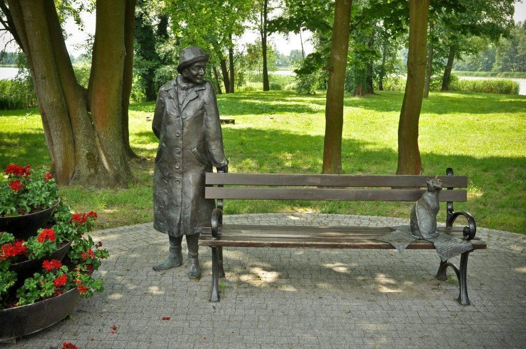ławeczka Wisławy Szymborskiej