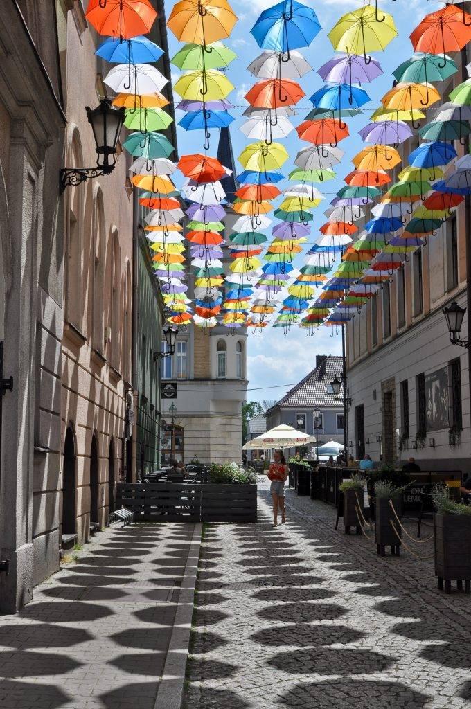 parasole w Pszczynie
