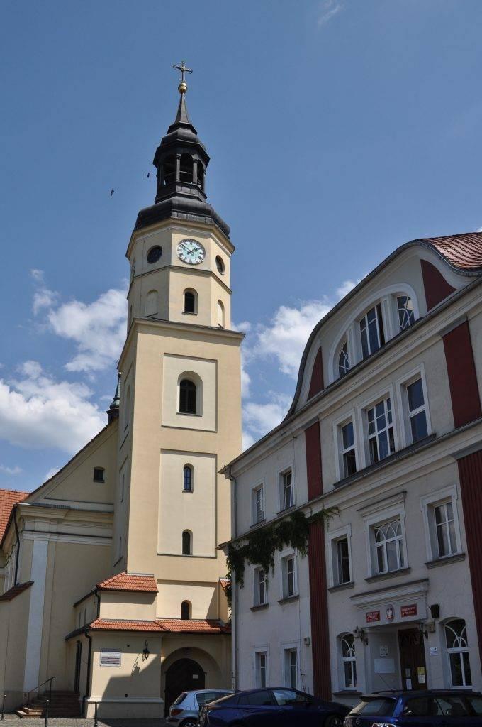 kościół w Pszczynie