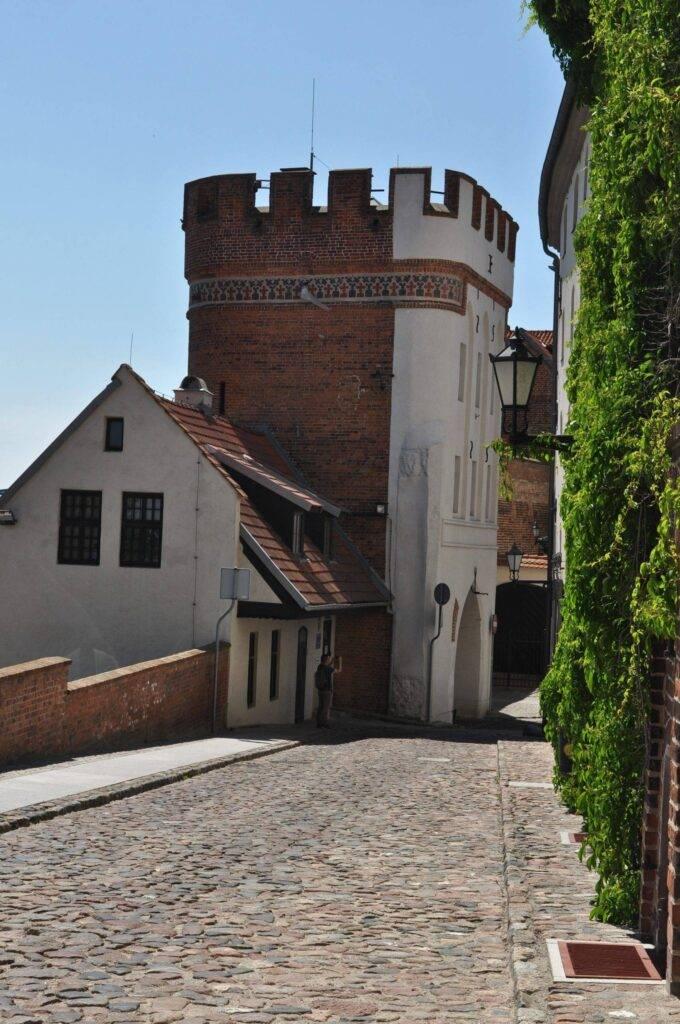 mury miejskie w Toruniu