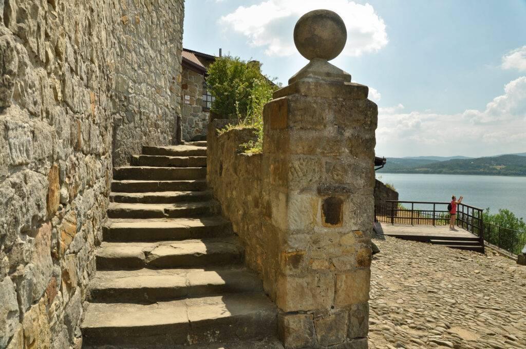 punkt widokowy na zamku