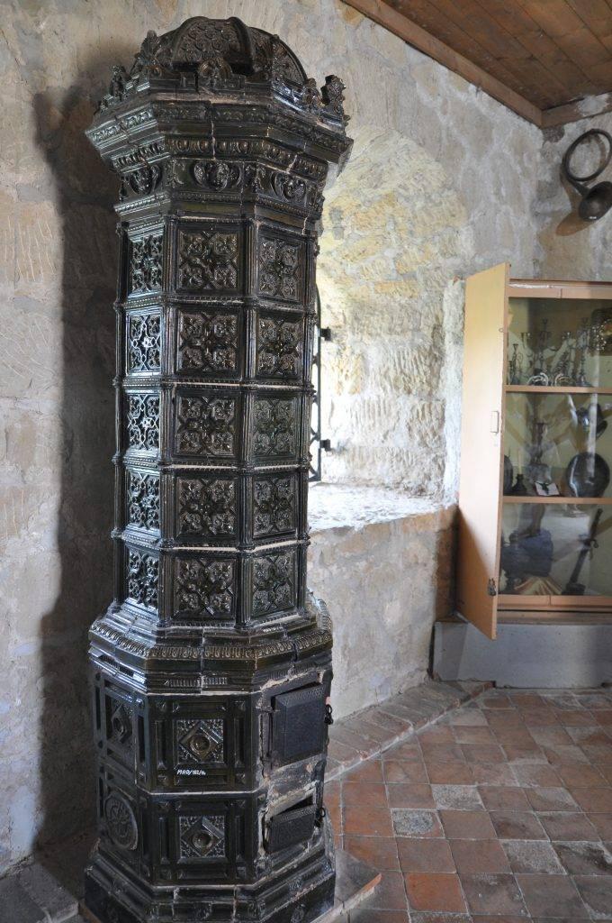 wnętrze zamku Dobczyce