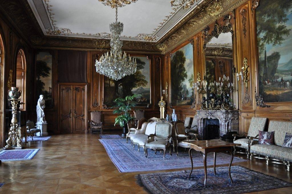 wnętrza zamku Pszczyna