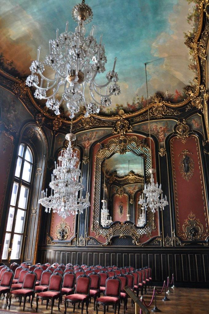 sala lustrzana