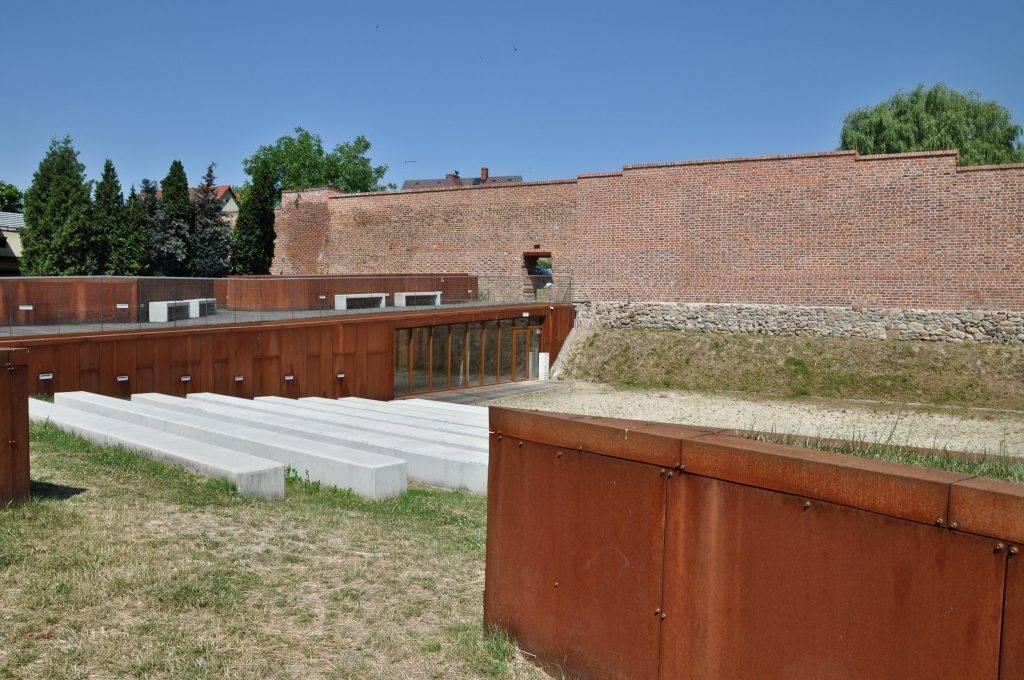 Mury miejskie w Żorach