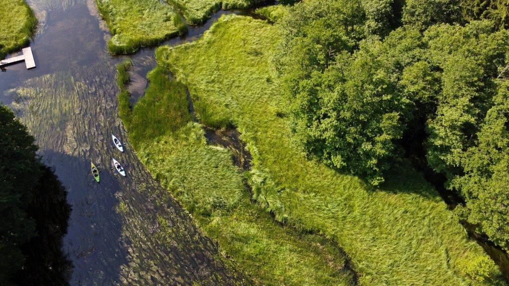 Suwalszczyzna spływ kajakowy