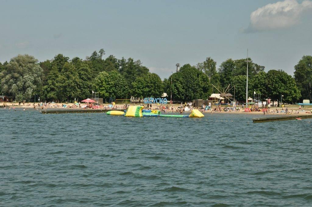 Jezioro Niegocin w Giżycku