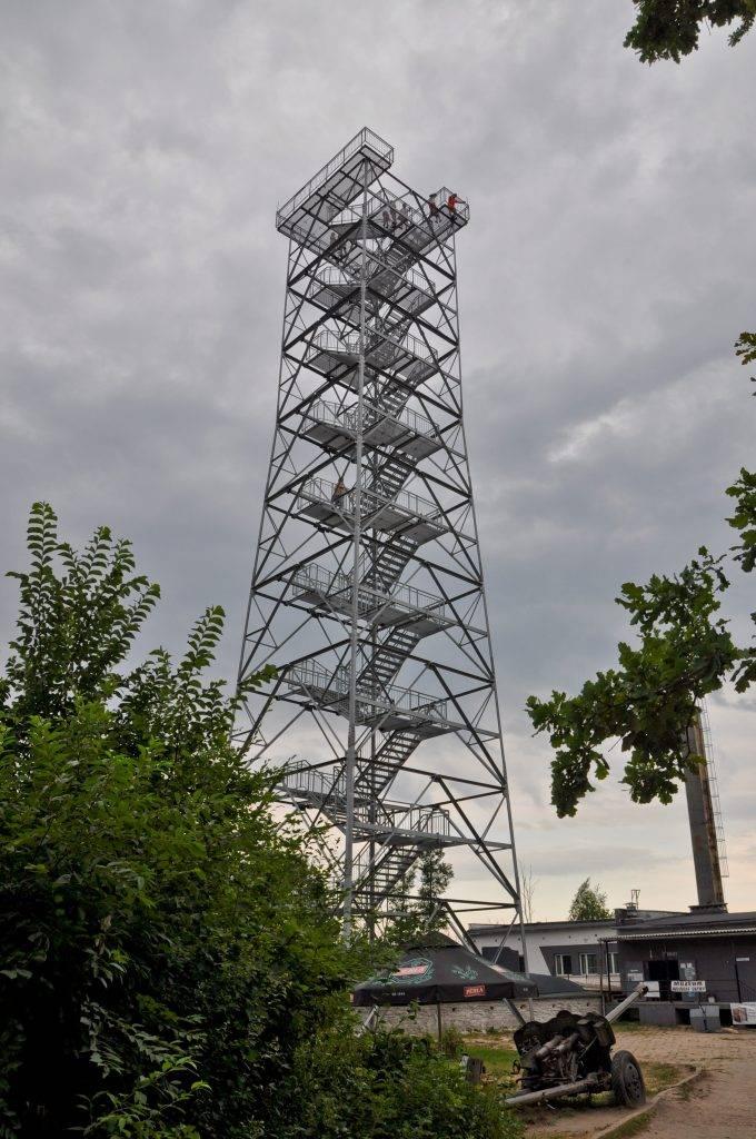 wieża widokowa Mamerki